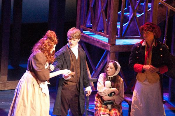 Les Mis hits the stage