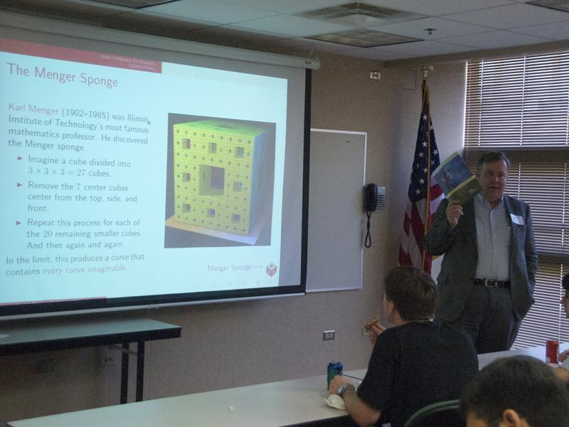 IIT math professor gives seminar on careers in math