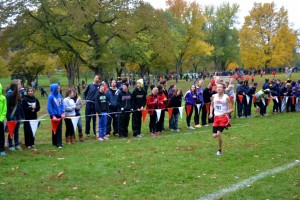 Boys cross country competes for state title