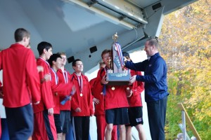 Boys' Cross Country wins state