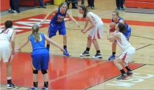 Girls' basketball loses in close match to LT