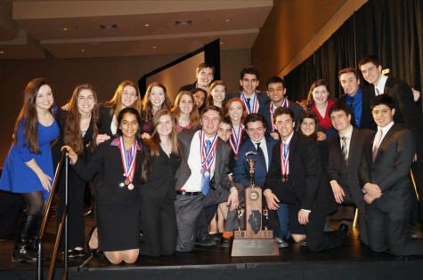 Forensics places third in state