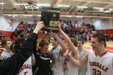 Hamilton's buzzer beater leads boys' basketball to regional title