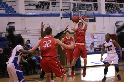 Boys' basketball riding momentum into playoffs