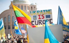 Ukrainian students react to events in their homeland