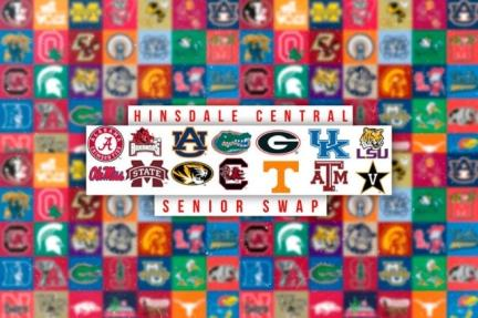 Senior Swap: seniors trade college apparel