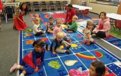 Preschool Practicum: Childcare and Development invites toddlers into classroom