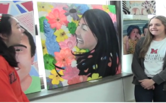 Art students showcase their work