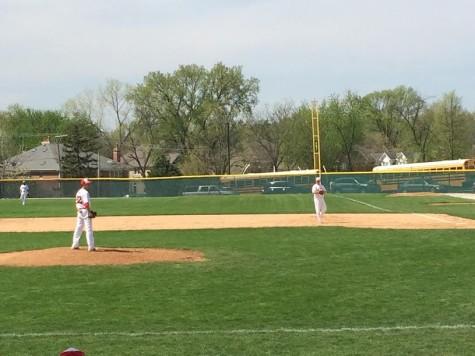 Baseball splits double header with OPRF