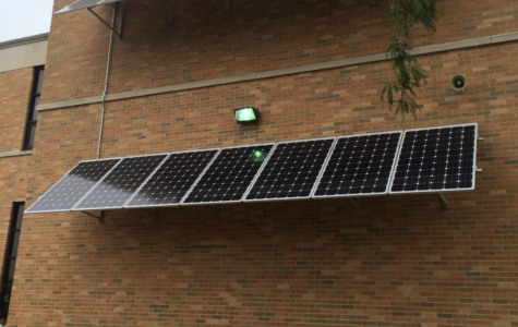 Central implements new solar panels