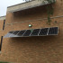 Solar panels located on the south side of Hinsdale Central.