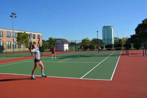"""Slow and steady"" wins in girls' tennis"