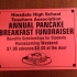 The annual pancake breakfast attracted students, parents, teachers and other community members.