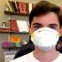 Andrew Coyner, junior, is prepared to combat Ebola.