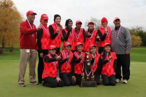 Boys' and girls' golf teams rejoice after state victories