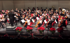 Central's choir and band perform in annual holiday concert