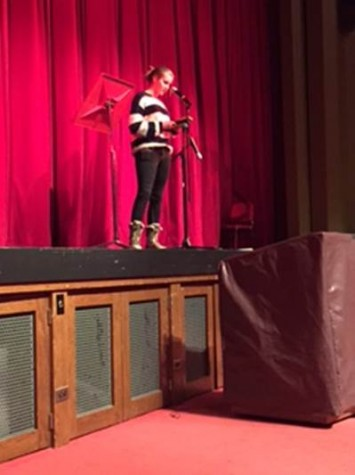 English 2 Honors holds first annual poetry slam