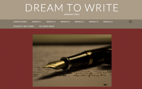 """Gaur encourages students in India to """"Dream to Write"""""""