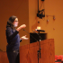 Sian Beilock, a professor at the University of Chicago, discusses why students fail under too much pressure. She spoke to Central students and parents on Jan. 21.