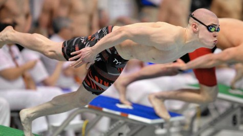 Sophomore swims through varsity records