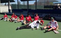 Varsity boys' tennis team swings into spring season with confidence