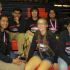 (from left to right) Seniors Brandon Weller, Priya Pillai, Kislay Bhagat, Navid Shoaee, junior, Nathalie Phillips, Anisha Nallakrishnan, and Satya Krishnan proudly sit with their 3rd place trophy.