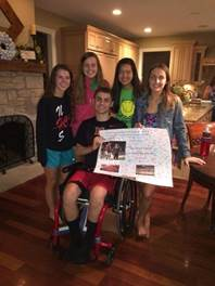 Happy club holds fundraiser for injured athlete