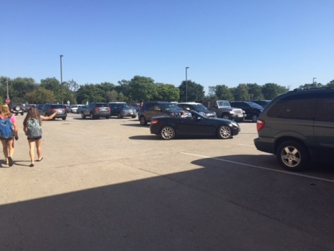 The Senior lot holds spot for only some Seniors.