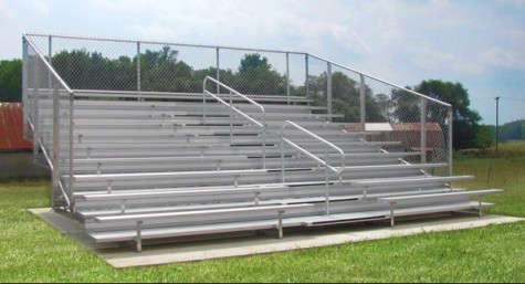 New Bleachers for Growing Band