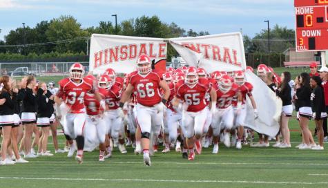 Hinsdale Central defeats DGN in a 43-0 Blowout