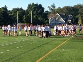 2015 Powderpuff football game sparks competition and awareness