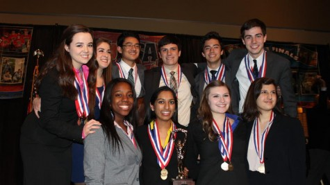 Forensics members place in  nationals