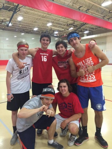 Peer Leadership holds annual volleyball tournament