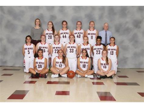 2015-2016 Girls' Varsity Basketball team