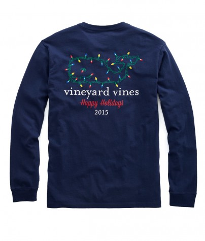 The typical Vineyard Vines t-shirt with a holiday spin