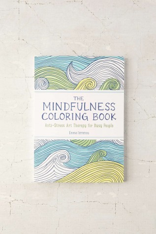 Coloring books are a great way to release stress and relax