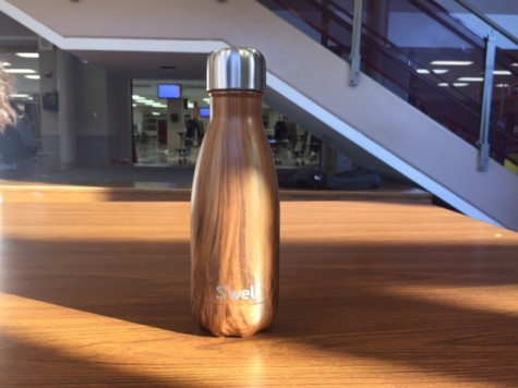 S'well bottles are a style of water bottle on the rise in Hinsdale Central that come in many colors and three sizes