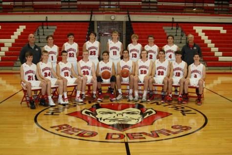 2015-2016 Boys' Varsity Basketball team