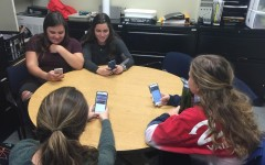 Brodell incorporates a digital exchange into her curriculum