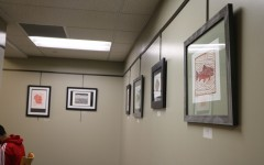 Hinsdale alum displays art achievement at the Hinsdale Library