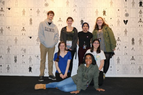 Poetry Club members shared their writing at this year's Louder Than a Bomb event on Feb. 19.