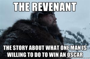An example of the internet jokes that plagued the years leading up to Leonardo DiCaprio's Oscar win.