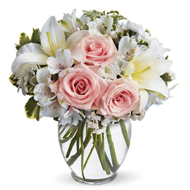 A flower bouquet is a classic option to get your mom on Mother's Day