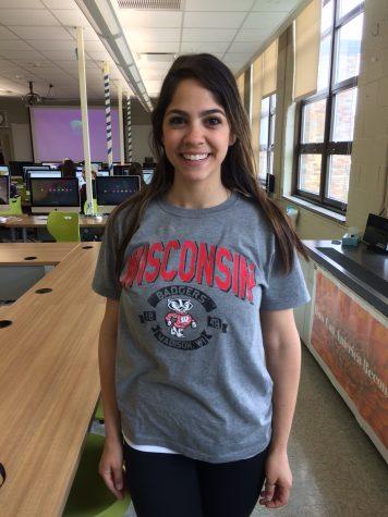 Photographer Talia Sankari has chosen to attend Wisconsin.