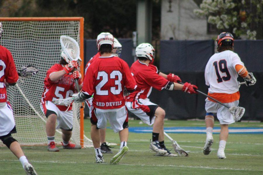 Devils' Advocate : Boys' Lacrosse rematches rival LT