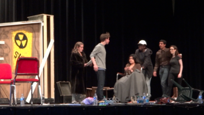 Behind the scenes at the 24-Hour Theatre Project
