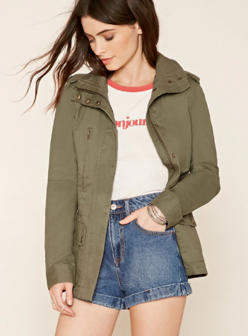 Utility jackets can be worn both indoors and outdoors making for a versatile closet staple.