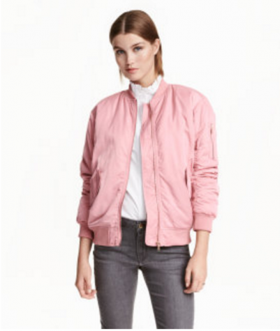 Bomber jackets have been updated to fit with the modern trends in fashion.