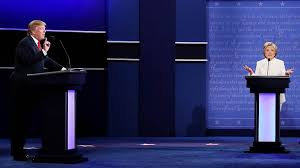 Hillary vs Donald in The Final Debate