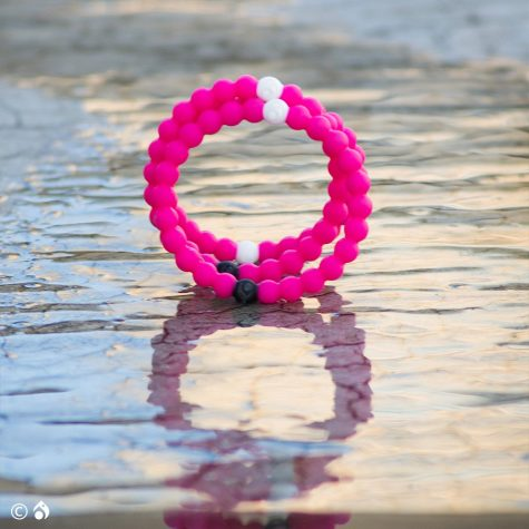 Lokai will donate $1 from each purchase to the Breast Cancer Research Foundation.